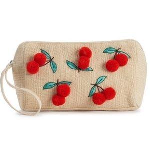Sam Edelman Circus Cherry Pouch  NWT (Firm Price)
